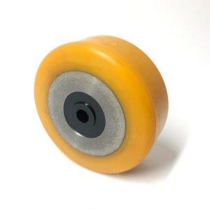 D100mm x 40mm Yellow P/U stabiliser wheel