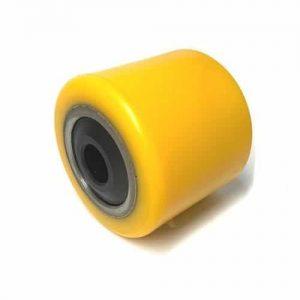 D85mm x 74mm PU & Steel Core Tandem Load Roller