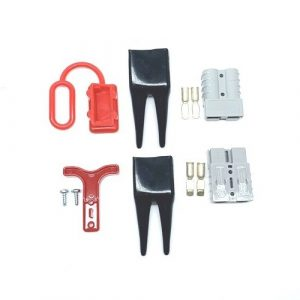 Anderson SB50 AMP Grey Connector Jump Starter Battery Slave Assist – Kit #3