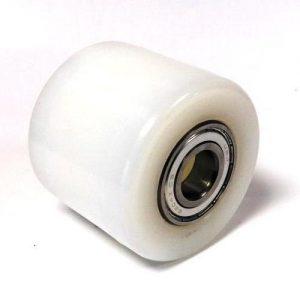 BT Rolatruc – White Nylon Tandem Load Roller (L2000, L23 and LHM230 models)