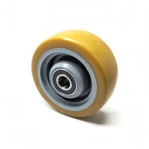 D140mm x 54mm Yellow P/U stabiliser wheel