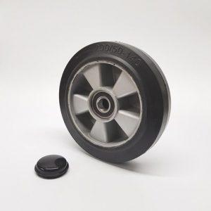 Logitrans BF Basic – D200mm x 50mm Rubber & Aluminium steer wheel (B8)