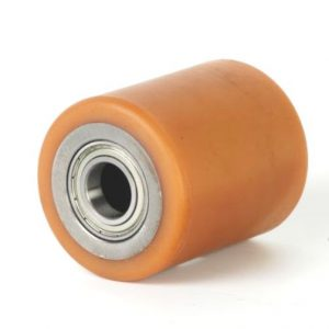 D82mm x 90mm – LOW NOISE Vulkallon & Steel Core Tandem Load Roller including bearings