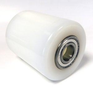Jungheinrich / MIC – AM22, TM22, AM2200 – White Nylon Single Load Roller – 090153007