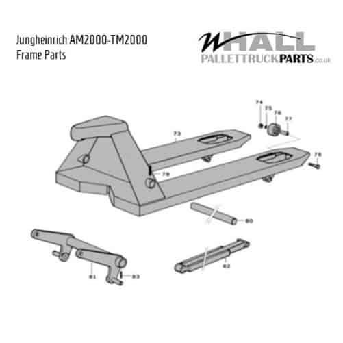 Frame Assembly Parts - Jungheinrich TM2000-AM2000