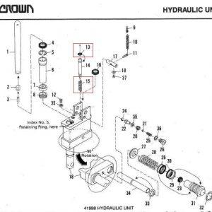 Crown PTH New Version – Release Piston Kit – 54002-11