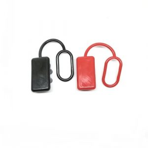 Anderson Plug Dust Covers – End Caps for SB175 AMP Connector (Black and Red Rubber) x1 no.