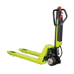Pramac Agile Plus Semi-Electric Pallet Truck – W525mm x L1150mm -1200KG