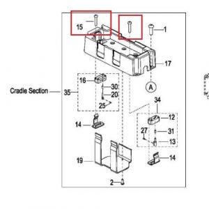 EPT12-EZ – Connector Screws x8 – 0000-001342-00