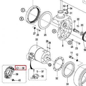 EP Equipment – Motor Brush – 1115-250001-00