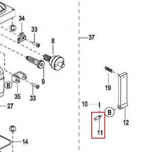 EPL1531 – B-Shaft Axle- 0000-001257-00