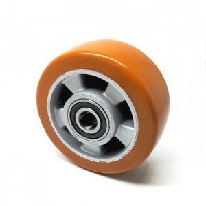 D140mm x 54mm Orange P/U & Aluminium Stabiliser Wheel