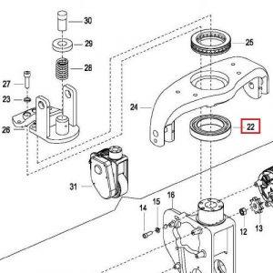 EP Equipment – Thrust Bearing – 0000-001231-00