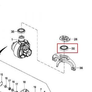EP Equipment – HPL152/EPL1531- Thrust Bearing – 0000-001230-00