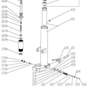 MT1015 Manual Stacker – Release Valve