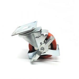 TF15 – Scissor Lift Table – Brake Castor Assembly
