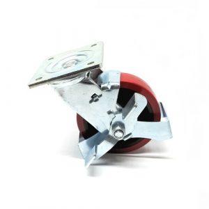 TF30 – Scissor Lift Table – Brake Castor Assembly